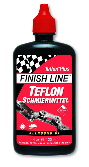 Finish Line Teflon Plus Kedjeolja 120ml